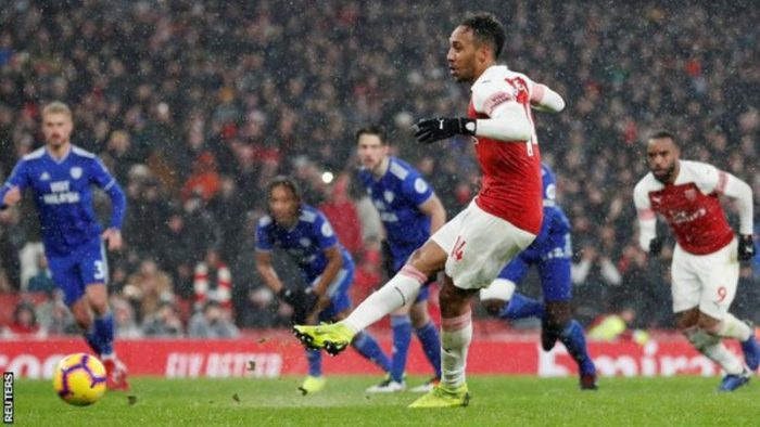 [Goals Highlight] Arsenal 2 – 1 Cardiff (Watch Here)