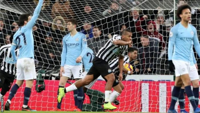 [Goals Highlight] Newcastle 2 – 1 Man City (Watch Here)