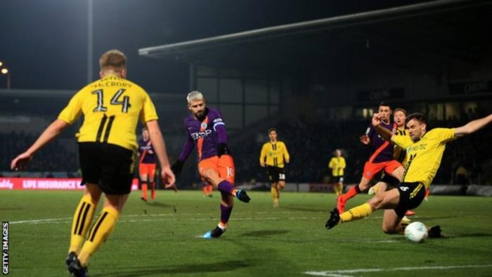 [Match Highlight] Burton 0 – 1 Manchester City (Watch Here)