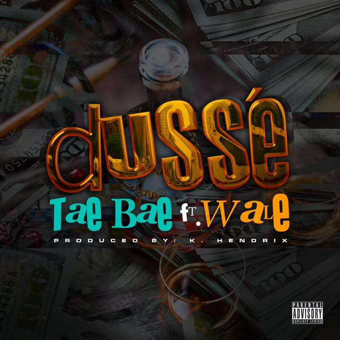 """Wale Parties Hard On The Homie Tae Bae's New Single """"D'usse"""""""