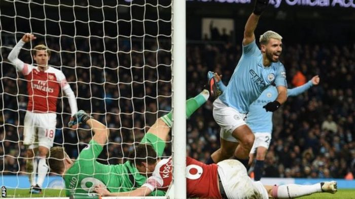 Aguero Speaks After Scoring Hat-trick Against Arsenal In The Premier League