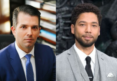 Donald Trump's Son Reacts To New Evidence Suggesting Jussie Smollett Orchestrated Attack On Himself