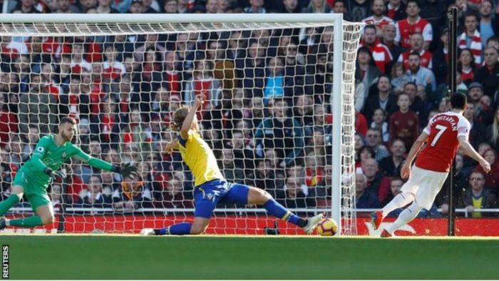 [Goals Highlight] Arsenal 2 – 0 Southampton