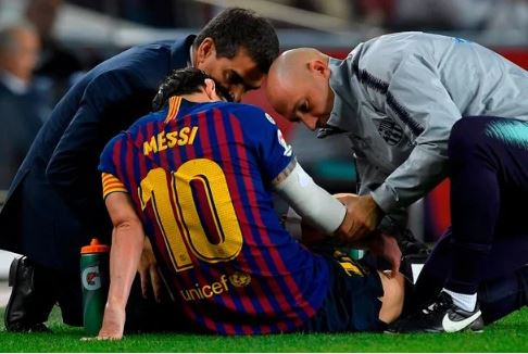 Lionel Messi Set To Miss Real Madrid Clash With Injury