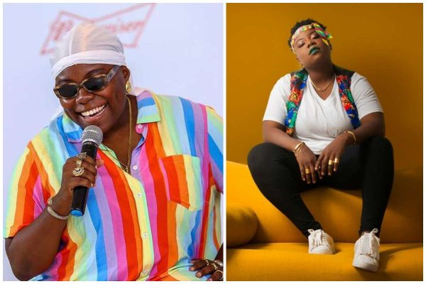 Teni Bursts Into Tears During Stage Performance