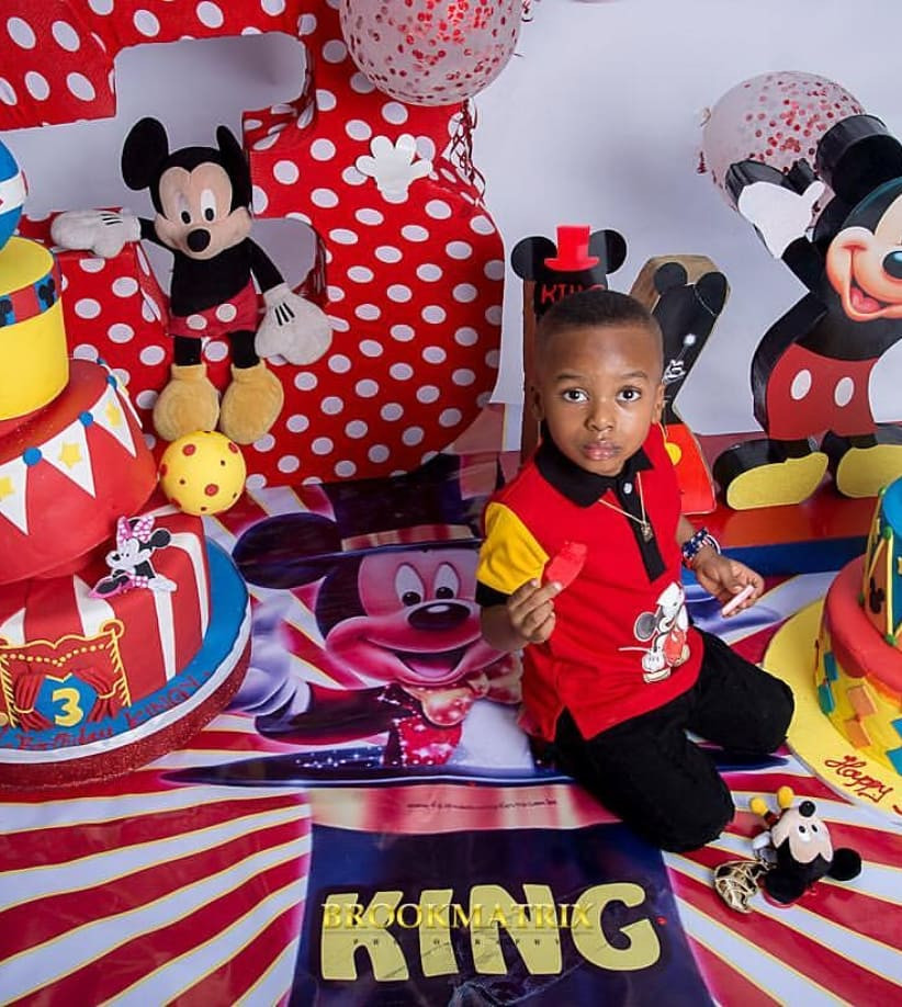 [PHOTOS] Tonto Dikeh Shares Lovely Photos of her Son, King Andre As He Turns 3