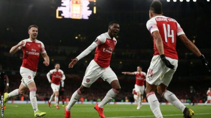 [Goals Highlight] Arsenal 3 – 0 Rennes