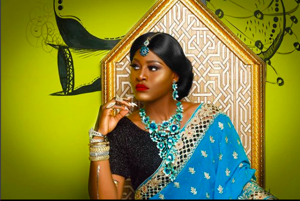 BB-Naijas-Alex-Is-Serving-Some-Indian-Appeal-In-Stunning-New-photos-stargist