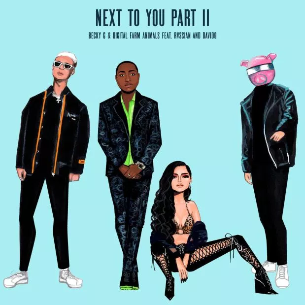Becky G & Digital Farm Animals ft Rvssian & Davido – Next To You Part II