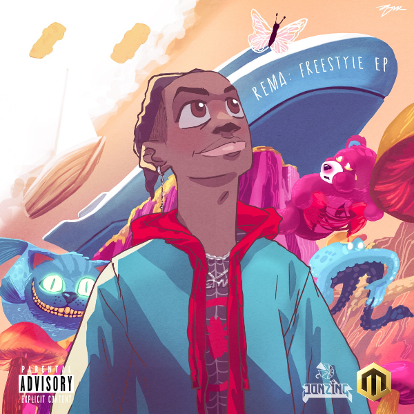 Rema - Rema Freestyle EP Artwork