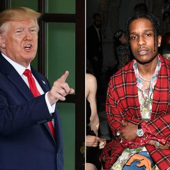 President Trump Sends Presidential Envoy to ASAP Rocky's Assault Case Hearing