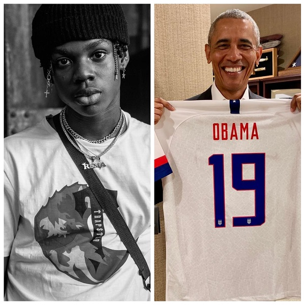Barack Obama list Rema's single 'Iron Man' as 1 of his summer songs