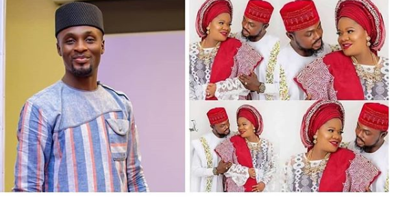 This Is How Adeniyi Johnson Reacted To News Of Toyin Abraham's Baby