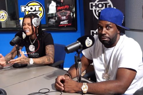 """Young M.A is """"So Brooklyn"""" During Funk Flex Freestyle"""