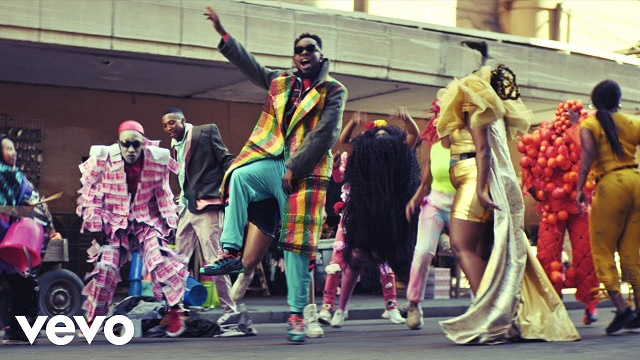 VIDEO Patoranking – Open Fire ft. Busiswa